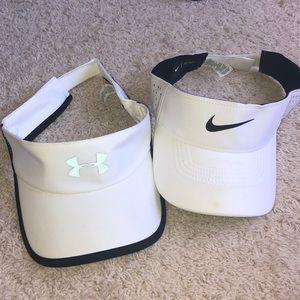 Under Armor & Nike visor